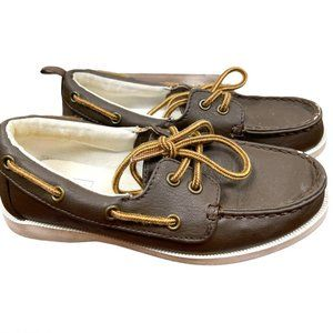 Gap Faux Leather Boat Shoes